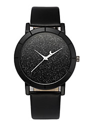 cheap -Dress Watch Leather Analog Black