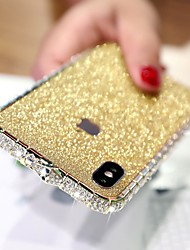 cheap -Case For Apple iPhone XS / iPhone XR / iPhone XS Max Rhinestone Back Cover Solid Colored Hard Metal