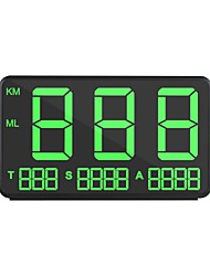 cheap -ZIQIAO CZZJ C80 GM GPS HUD Car Speed Display KM / H MPH Head Up Display Windshield Digital Car Speed Projector