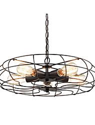 cheap -MAISHANG® 5-Light 46 cm Chandelier Metal Drum / Lantern Painted Finishes Retro / Country 110-120V / 220-240V / FCC / E26 / E27