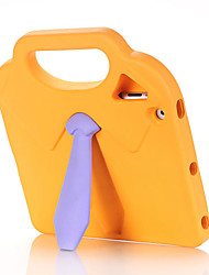 cheap -Case For Apple iPad 4/3/2 Shockproof / Child Safe Back Cover Solid Colored / 3D Cartoon EVA