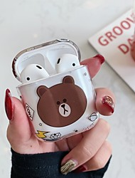 cheap -Case For AirPods Shockproof / Water / Dirt / Shock Proof / Pattern Headphone Case Hard