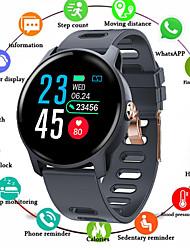 Недорогие -Смарт-часы Sm04 S08 IP68 фитнес-трекер монитор сердечного ритма шагомер водонепроницаемый SmartWatch для Android IOS телефон