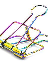 Недорогие -1 шт. Цветные металлические зажимы для ноутбука / книжного офиса поставщика 5.1 * 9.5 см