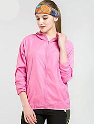 cheap -Men's Cycling Jacket Bike Windbreaker Top Windproof Breathable Moisture Wicking Sports Solid Color Polyester Pink / Grey / Royal Blue Mountain Bike MTB Clothing Apparel Regular Fit Bike Wear