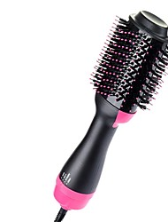 cheap -Amazon explosion models multi-function hot air comb negative ion hair comb hair curler straight hair comb hair dryer
