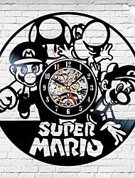 Недорогие -Super Mario Bros Лего Луиджи Nintendo виниловые пластинки настенные часы уникальный подарок
