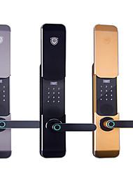 cheap -Factory OEM K22 Aluminium alloy Intelligent Lock Smart Home Security System RFID / Fingerprint unlocking / Password unlocking Home / Office Security Door (Unlocking Mode Fingerprint / Password