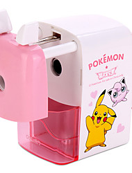 cheap -1 Piece Cute Manual Automatic Pencil Sharpener with Automatic Helical blade Random Colour for Students