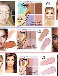 abordables -cmaadu 6 couleurs pro couvrante sans faille crème correcteur correcteur cosmétique pour le visage