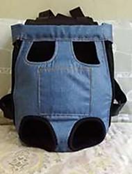 cheap -Dog Denim Jacket / Jeans Jacket Winter Dog Clothes Black Blue Costume Denim Letter & Number Cowboy Casual / Daily XS S M L XL XXL