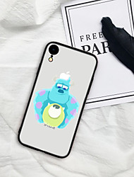 cheap -Case For iPhone X XS Max XR XS Back Case Soft Cover TPU Two cartoon dolls TPU for iPhone5 5s SE 6 6P 6S SP 7 7P 8 8P