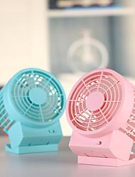 cheap -1Pc Office Desk Double Leaf Fan Large Air Volume Silent Shifting Usb Power Supply Double Leaf 14 Piece Fan Mini Fan