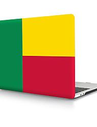 Недорогие -Бенин флаг ПВХ твердый переплет оболочки для MacBook Pro Air Retina чехол для телефона 11/12/13/15 (a1278-a1989)