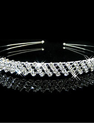 cheap -Women's For Party Party Evening Cubic Zirconia Silver Plated Alloy Silver 1pc
