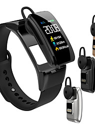 cheap -B31 Smart Bracelet Bluetooth Wireless Headset 2 in 1 Heart Rate Blood Pressure Monitor Smart Watch Bluetooth Wireless Phone Call