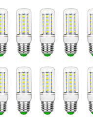 cheap -10pcs 6 W LED Corn Lights 3000 lm G9 B22 E12 / E14 T 36 LED Beads SMD 5730 Warm White White 220 V 110 V