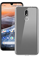 cheap -Case For Nokia Nokia 4.2 / Nokia 3.2 Dustproof Back Cover Solid Colored Soft TPU