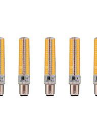 cheap -5pcs 5 W LED Corn Lights 1000-1200 lm BA15D T 136 LED Beads SMD 5730 Dimmable Decorative Warm White Cold White 220 V 110 V