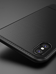cheap -Carbon Fiber Soft Tpu Phone Case For iphone XS Max XR XS X 8 Plus 8 7 Plus 7 6 Plus 6 Cases Cover Silicone