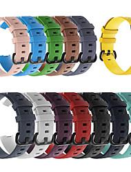 Недорогие -силиконовые спортивные сменные ремешки для часов ремешок на запястье для зарядки fitbit 3 fitbit charge3 умный браслет браслет