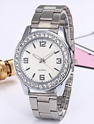 cheap -Women's Dress Watch Quartz Casual Watch Analog Classic - Gold Silver Fuchsia
