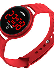 cheap -skmei men women outdoor sport casual waterproof digital electronic watch with simple design touch screen led display calendar date wristwatch