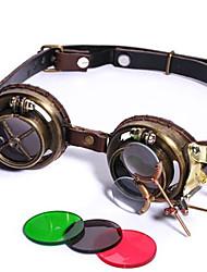cheap -蒸汽朋克Steampunk护目镜 cosplay拍照道具