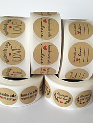 cheap -Food&Drink / Locket / Wedding Stickers, Labels & Tags - 1 pcs Cylindrical / Micro Labels / Bakeware All Seasons