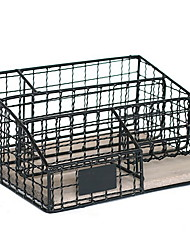 cheap -Metal Creative Home Organization, 2pcs Desktop Organizers