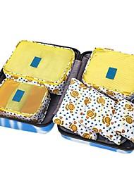 cheap -New 6 Pcs Travel Storage Bag Set Waterproof Clothes Underwear Organizer Pouch Suitcase Closet Divider Organiser Container