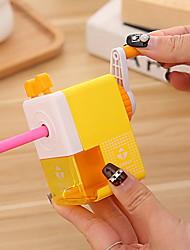 cheap -Hand-cranked Cute Pencil Sharpener Mechanical Sharpener For Children Animals Pencil Sharpener