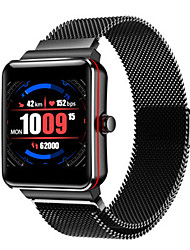 cheap -Men's Sport Watch Digital Modern Style Sporty 30 m Water Resistant / Waterproof Bluetooth Smart Digital Casual Outdoor - Black Black / Silver Black / Red