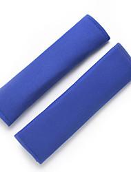 cheap -2pcs Safety Strap Car Seat Belts Protect Shoulder Pad Car Safe Fit Seat Belt Adjuster Device Auto Safety Belt Cover