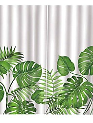 cheap -Home Decoration UV Digital Printing Natural Landscape Curtains High Quality Thickened Full Shade Moisture-Proof Curtain Living Room Polyester Fabric Curtain
