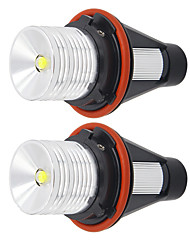 cheap -2Pcs car LED 10W Angel Eyes Marker Lights Bulbs For BMW E90 E91 325i 325xi 328i 328xi 330i 330xi 335i 335xi Canbus Fog Light