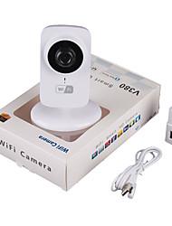 Недорогие -720p HD интеллектуальная беспроводная сеть Wi-Fi камеры наблюдения карты ночного видения видео удаленного воспроизведения