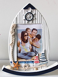 cheap -Modern Style Wooden Painted Finishes Picture Frames Wall Decorations, 2pcs Picture Frames
