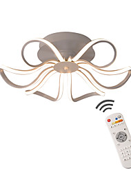 cheap -LED Chandelier Ceiling Light Flush Mount Lights Ambient Light Painted Finishes Metal Dimmable  Dimmable With Remote Control