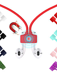 cheap -Magnetic Earphone Strap For Airpods TWS Anti Lost Strap Magnetic String Rope For Bluetooth earphones Silicone Cable Cord