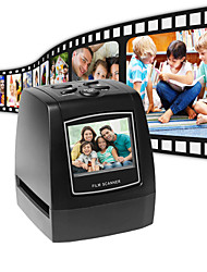cheap -Ultra High-Resolution Photo Scanner 35/135mm Slide Film Digital Scanner USB Film Converter 2.36 LCD screen Business Card Scanner