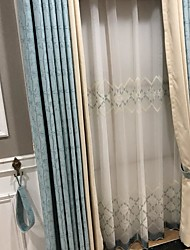 cheap -Classic Blackout Two Panels Curtain Bedroom   Curtains