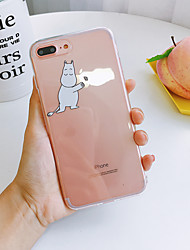 cheap -Case For Apple iPhone XS / iPhone XR / iPhone X Pattern Back Cover Cartoon TPU
