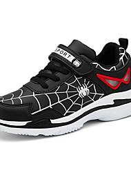 abordables -Garçon Confort Polyuréthane Chaussures d'Athlétisme Grands enfants (7 ans et +) Marche Noir / Bleu de minuit / Rouge Eté / Gomme