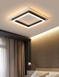 cheap -1-Light 40 cm LED Flush Mount Lights Metal Acrylic Linear Painted Finishes LED / Modern 110-120V / 220-240V