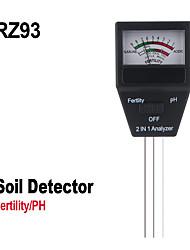 cheap -RZ Mini Soil Moisture Humidity Hygrometer Measuring PH Meter Soil Moisture Monitor Gardening Plant Farming Light Sunlight Tester