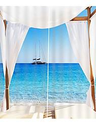 Недорогие -трансграничные поставки 3d печать шторы утолщенные полный оттенок ткани занавес для гостиной водонепроницаемый против морщин нетоксичный чистый полиэстер занавески для душа