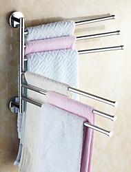 Недорогие -Держатель для полотенец Креатив Современный Латунь 1шт - Ванная комната На стену