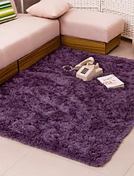 cheap -Bathroom Foam Shaggy Rug Non-slip Bath Bedroom Mat Shower Carpet 40x60cm New Color:4060cm Purple