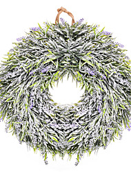 Недорогие -Thinkmax дверь висят стены украшения окна лаванда цветочный венок пасхальный праздник праздничный декор